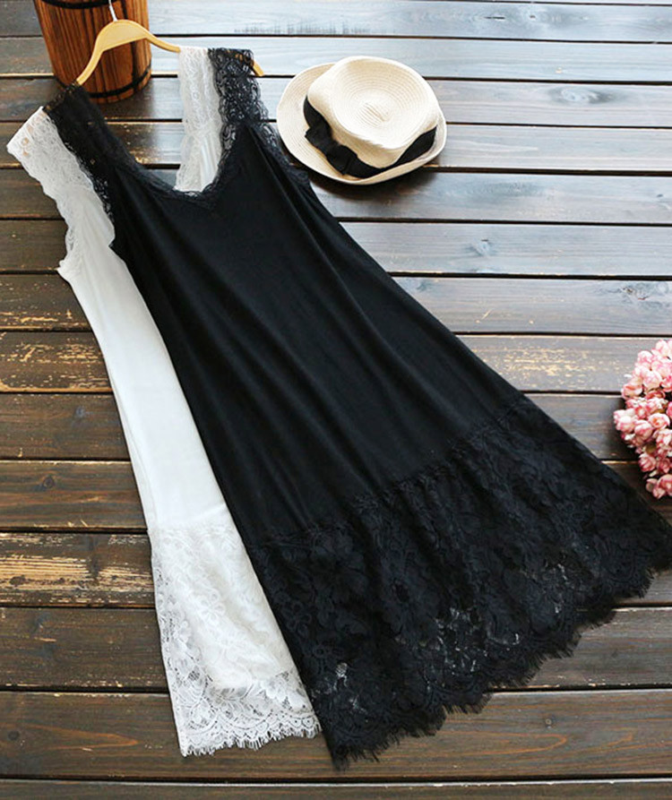 37252e323a Cupshe Night Whisper Lace Slip Dress | Online Fashion Stores : Large ...